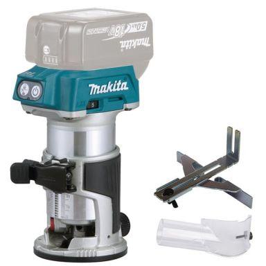 Makita DRT50Z Multifräs utan tillbehör, batterier och laddare