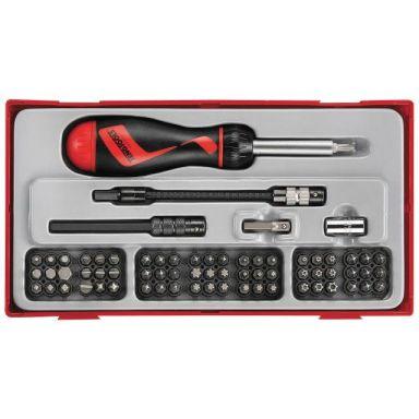 Teng Tools TTMD74 Ruuvauskärkisarja