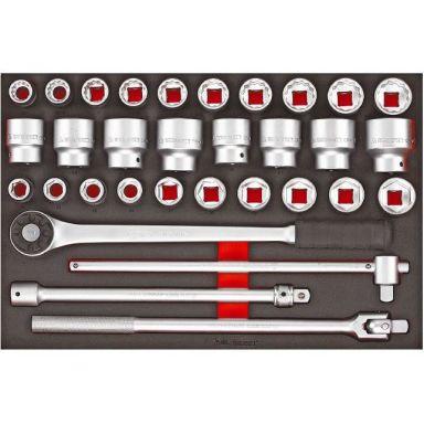 Teng Tools TTESK32 Pipenøkkelsett 32 deler