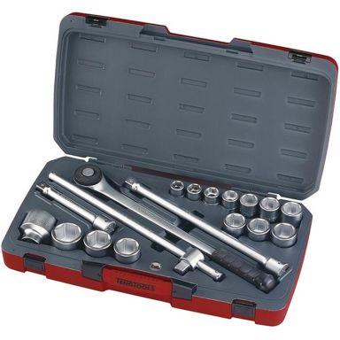 Teng Tools T3418-6 Pipenøkkelsett 18 deler