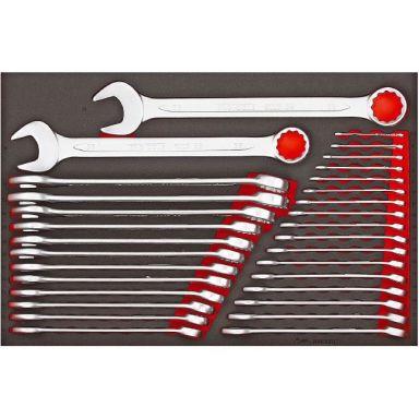 Teng Tools TTESP31 Kombinasjonsnøkkelsett 31 deler