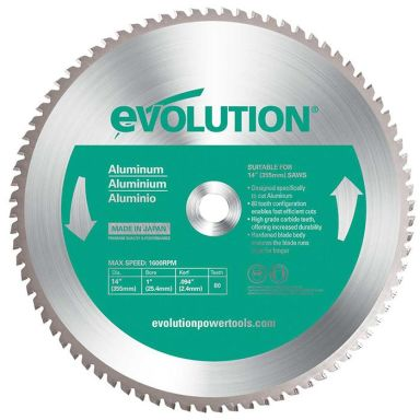 Evolution EV355A Sahanterä 355x2,0x25,4mm, 80T