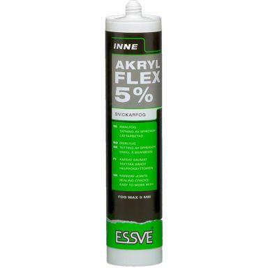 ESSVE FLEX 5% Akryl hvit