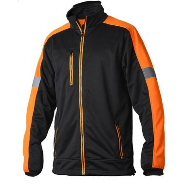 Vidar Workwear V70085205 Tröja orange/svart