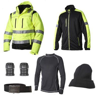 Vidar Workwear Gul Vinterpakke