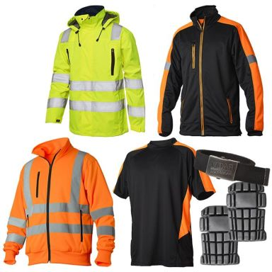 Vidar Workwear Orange Sommarpaket