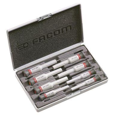 Facom AEF.J6 Skrutrekkersett 8 deler Micro-Tech, 8 deler