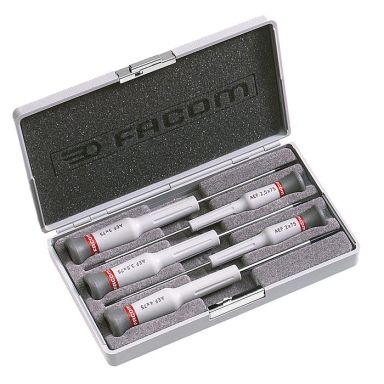 Facom AEF.J2 Skrutrekkersett 5 deler Micro-Tech, 5 deler