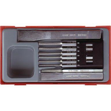 Teng Tools TTPC09 Lävistinsarja 9-osainen
