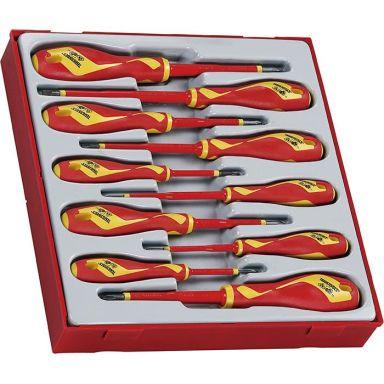 Teng Tools TTDV910N Skruvmejselsats 1000 V isolerade 10 delar