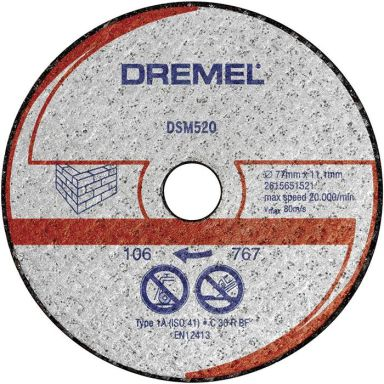Dremel DSM520 Kapskiva