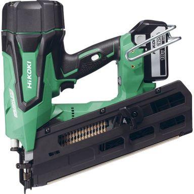 HiKOKI NR1890DBRL Spikverktyg med 5,0Ah batterier och laddare
