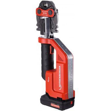 Rothenberger Romax Compact TT Pressmaskin med 2,0Ah batteri och laddare