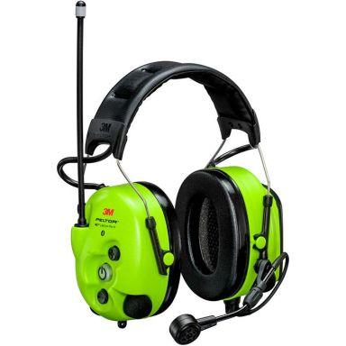 3M Peltor WS LiteCom III Hørselsvern med issebøyle, Bluetooth, Hi-Viz