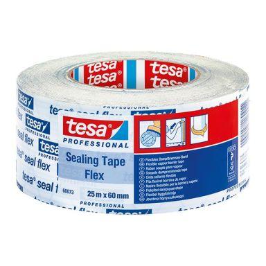 Tesa Seal 60073 Byggfolietejp 25 m x 60 mm, SITAC-godkänd