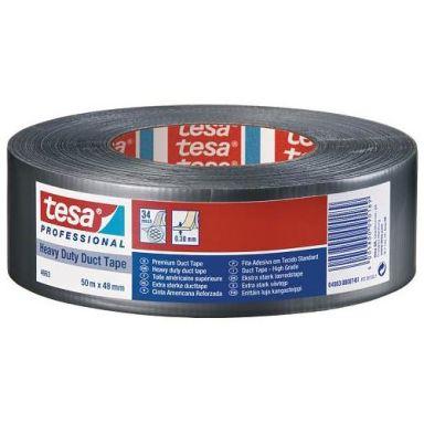 Tesa 4663 Premium Vävtejp silver, 50 m x 48 mm