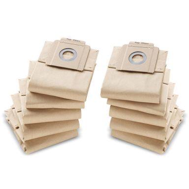 Kärcher 69043330 Filterpåse Papper, 10-pack