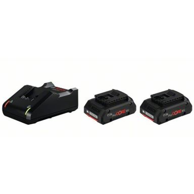 Bosch GAL 18V-40 + 4,0Ah ProCORE Ladepakke