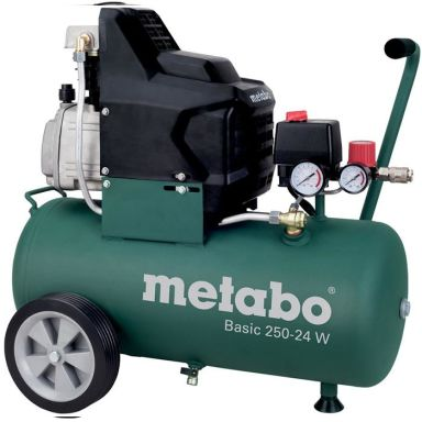 Metabo Basic 250-24 W Kompressor med påfyllnadskapacitet 110 l/min