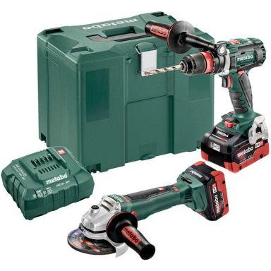 Metabo 685094000 Verktygspaket med 5,5Ah batterier och laddare