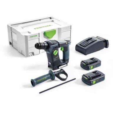 Festool BHC 18 Li 3,1 I-Compact Borrhammare med batteri och laddare