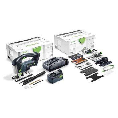 Festool PSBC 420 Li 5,2 EBI-Set Sticksåg med systainer, batteri och laddare