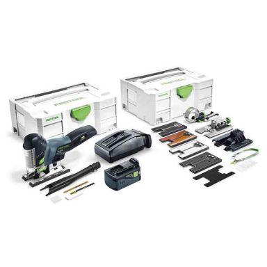 Festool PSC 420 Li 5,2 EBI-Set Sticksåg med systainer, batteri och laddare