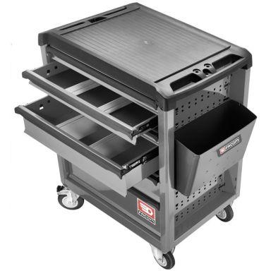 Facom ROLL.6GM3 Verktygsvagn 6 lådor, 3 moduler/låda
