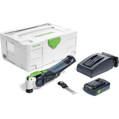 Festool Vecturo OSC 18 Li 3,1 E-Compact Multiverktyg med batteri och laddare