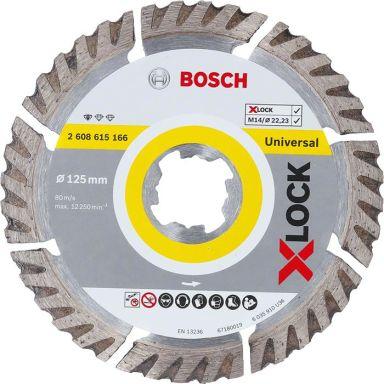 Bosch Standard for Universal Diamantkapskiva med X-LOCK
