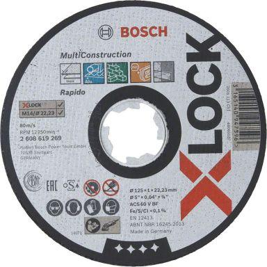 Bosch Multi Construction Kapskiva med X-LOCK