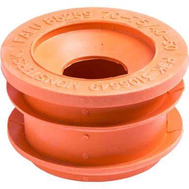 Faluplast 85259 Gumminippel 75-70/50-40, orange
