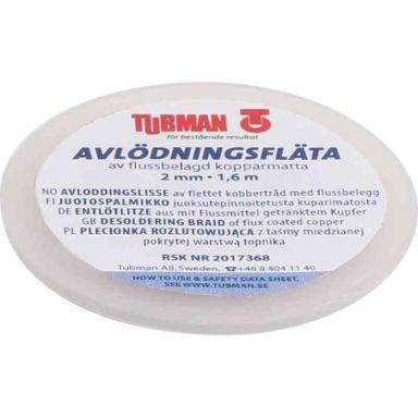 Tubman 907101 Avlödningsfläta