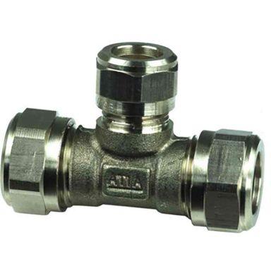 Gelia 3006129322 Kiristysrengasliitin 15x12 mm, T-putki