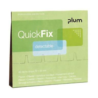 Plum QuickFix Detectable Plåster refill, 45 st