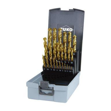 Ruko 250215TRO Borrsats 1-13 mm, 25 delar