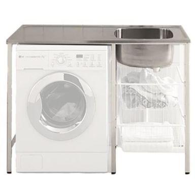 Contura CABM 12 RM Tvättbänk monterad, med plats för tvättmaskin