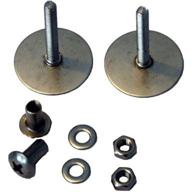 Design4Bath TBD-0180 Montagebricka för duschset, rund, 2-pack