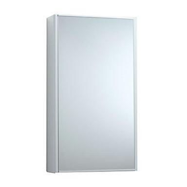 Svedbergs Birdie Badrumsskåp metall, vit, med spegel