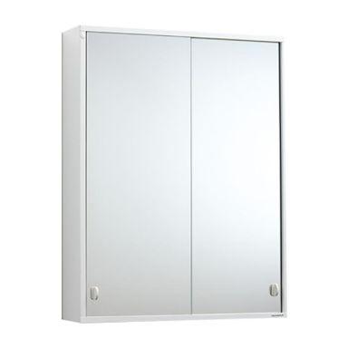 Svedbergs I:ET Badrumsskåp metall, vit, med spegel