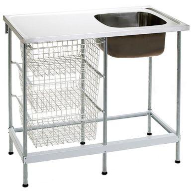 Nimo NB 1000 Tvättbänk 100 cm, rostfritt stål