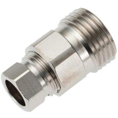 Mora 309017AE Anslutningskoppling rak, G15 x 10 mm
