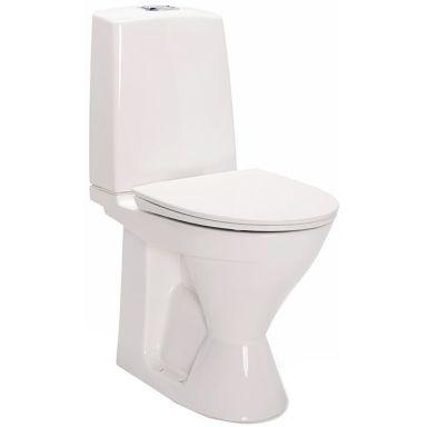 IDO Glow Rimfree 3926201201 Toalettstol hög, med hårdsits