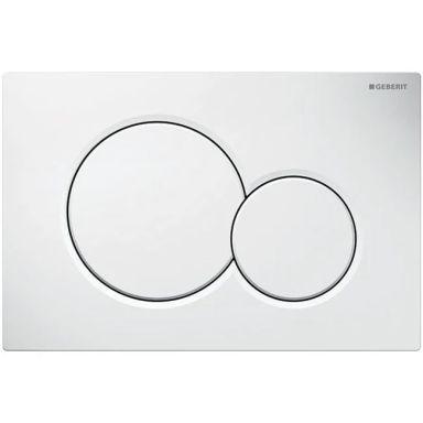 Geberit Sigma 01 Spolplatta dubbelspolning