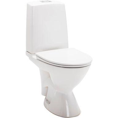 IDO Glow Rimfree 3726301201 Toalettstol med mjuksits