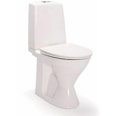 IDO Glow Rimfree 3626201201 Toalettstol hög, med hårdsits soft-close