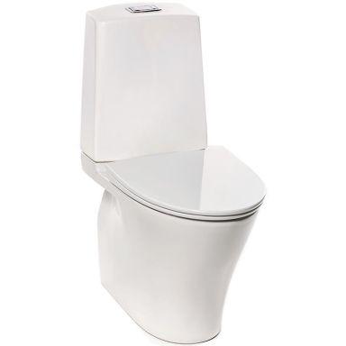 IDO Glow Rimfree 3636401201 Toalettstol med hårdsits soft-close