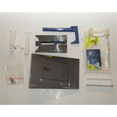 IDO Z6908302001 Tryckknapp krom, för WC