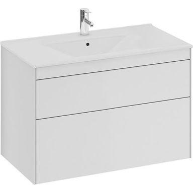Ifö Sense SU Underskåp 90 cm, 2 lådor, vit