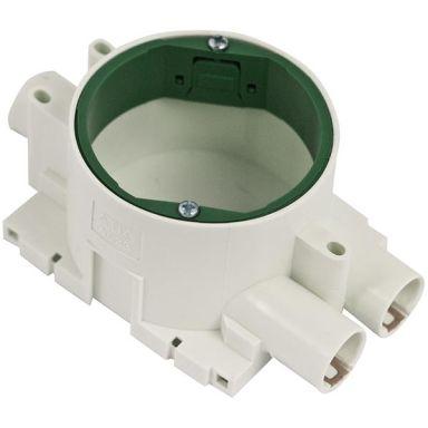 Gelia A523 Apparatdosa grön, enkelgips, inkl. låsfjäder